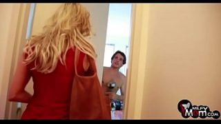 Brandi Love shows us her amazing big boobs and fucks hard – MilfyMom.com
